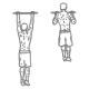 Ffitness oefeningen rug - optrekken neutraal - thumb2