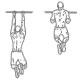 Ffitness oefeningen rug - optrekken smalle greep - thumb