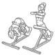 Fitness oefenignen rug - rompheffen op bankje - thumb