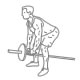 Fitness oefeningen rug - T-bar roeien - thumb