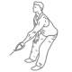 Fitness oefeningen rug - kabel roeien een arm - thumb