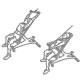 Fitness oefeningen rug - pulldown gestrekte armen zittend - thumb