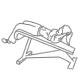 Buikspier oefeningen - crunch achteroverhellend - thumb