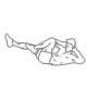 Buikspier oefeningen - luchtfietsen- thumb