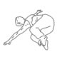Buikspier oefeningen - omgekeerd rompdraaien - thumb