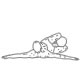 Buikspier oefeningen - omgekeerde russian twist - thumb