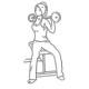 Buikspier oefeningen - twist met halter - thumb