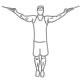 Fiitness oefeningen armen - hoge biceps kabel curl - thumb