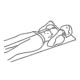 Fitness oefeningen armen - liggend kabel biceps curls - thumb