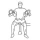 Fitness oefeningen armen - machine biceps curl - thumb