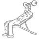 Fitness oefeningen armen - schuine triceps strekken halter - thumb