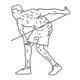 Fitness oefeningen armen - voorovergebogen triceps kabel kickback - thumb