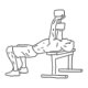Fitness oefeningen borst - dumbbell pull-over - thumb
