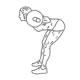 Fitness oefeningen onderrug - Good mornings - thumb