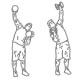 Fitness oefeningen schouders - wisselend drukken - thumb