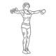 Fitness oefeningen schouders - zijwaarts dumbbell heffen - thumb