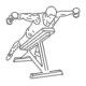 Fitness schouder oefeningen - achterwaardse flyes dumbbell - thumb
