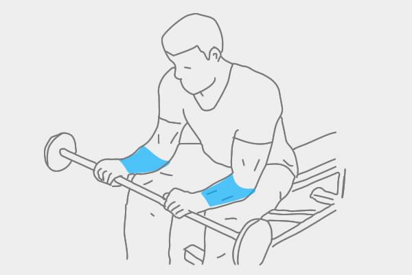 Fitness Oefeningen onderarmen - hoofdafbeelding