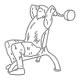 Triceps fitness oefeningen - triceps strekken EZ stang - thumb