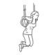 Triceps oefeningen - dippen in ringen - thumb