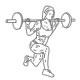 benen fitness oefeningen - halter lunges - thumb