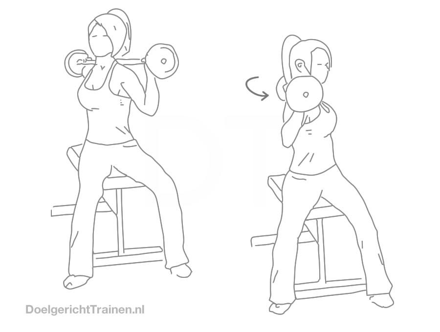 Twist met halter - Doelgericht Trainen