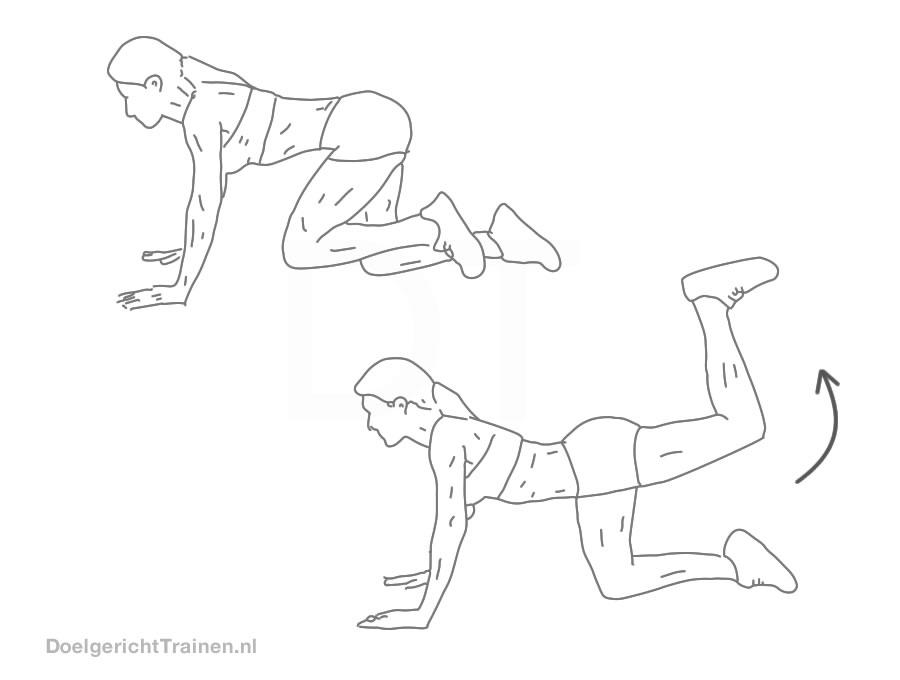 billen en benen trainen