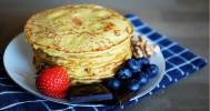 Gezonde eiwitpannenkoeken maken met cottage cheese
