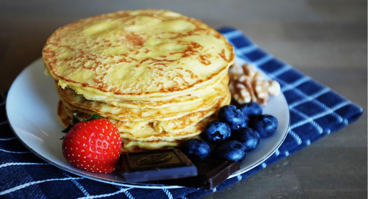 recept zelf eiwitpannenkoeken maken - afbeelding