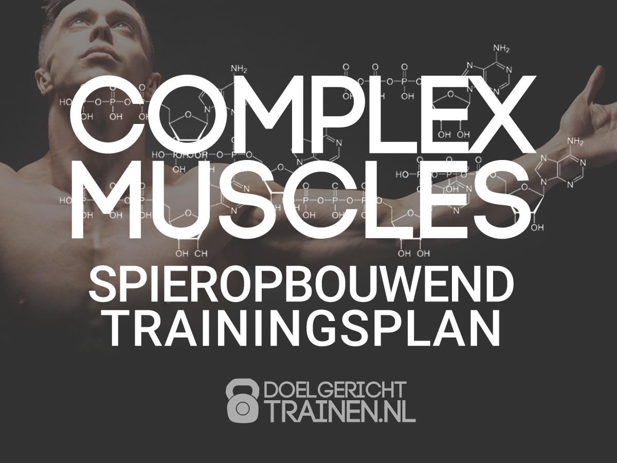 Complex Muscles - spieropbouwend fitness schema - afbeelding