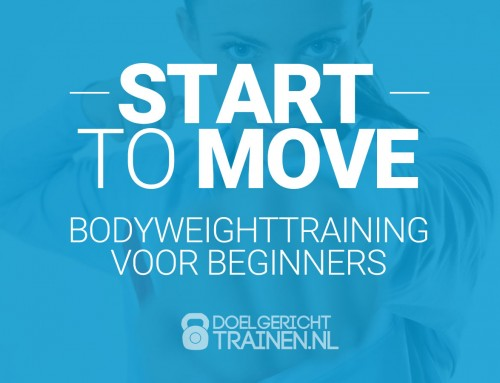 Start To Move – Beginners fitness schema voor thuis