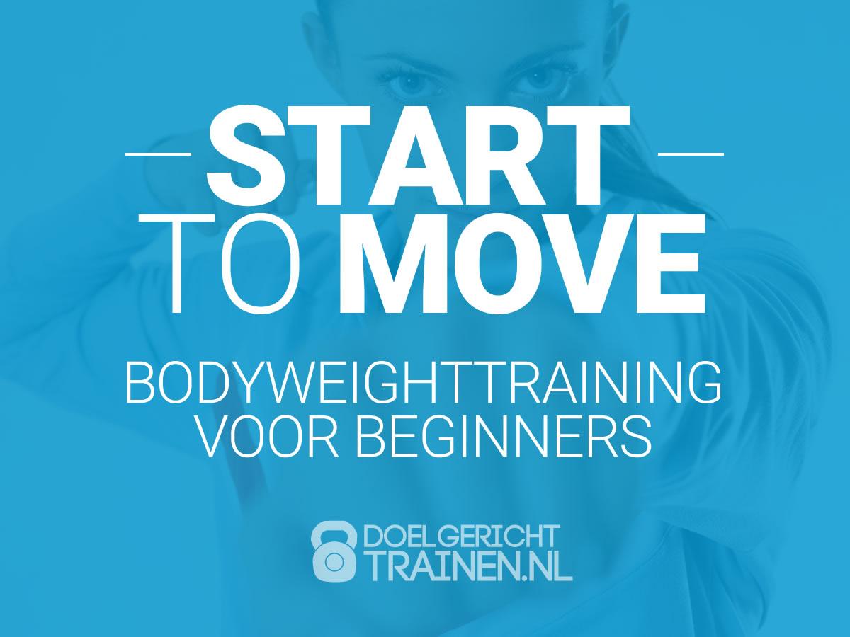 Start To Move - beginners fitness schema voor thuis - afbeelding